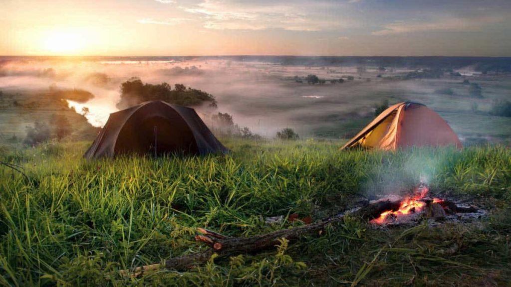 Kako početi kampirati