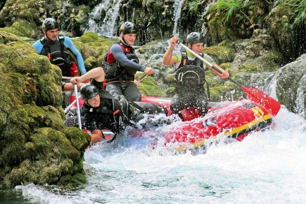 Rafting na divljim rijekama