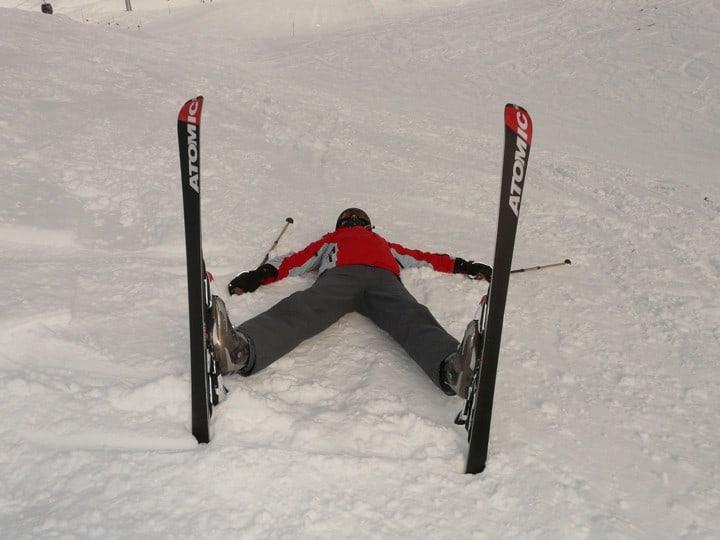 Skijanje umor fleksibilnost