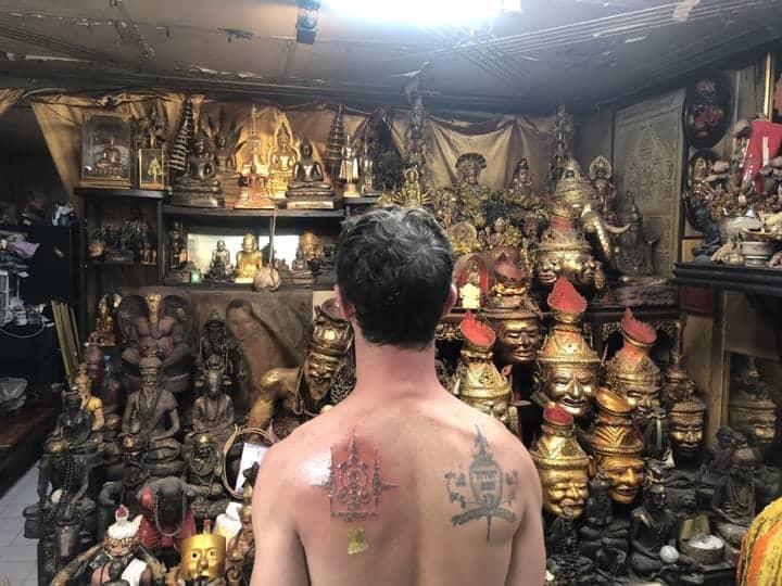 Sak Yant tetovaža