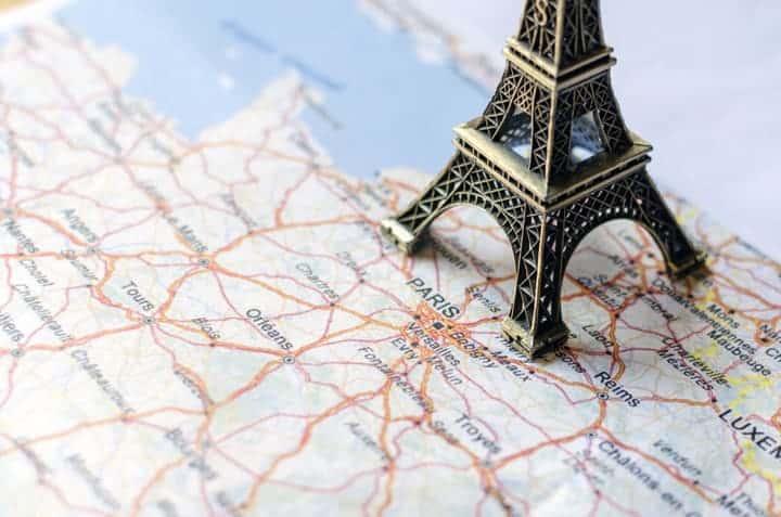 Priprema za putovanje u Francusku