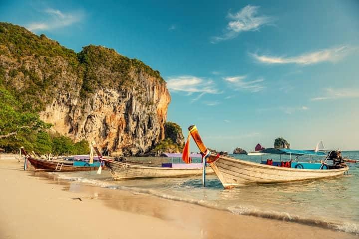 Tajland morska obala