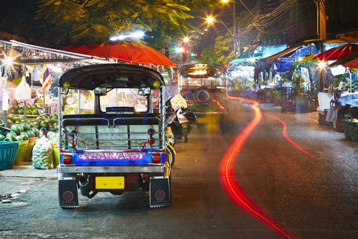 Tuk Taxi Tajland