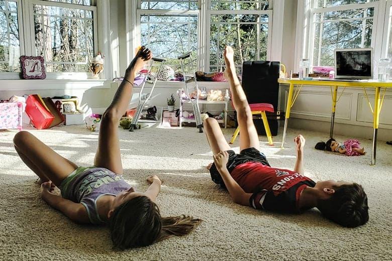 Djeca i fitnes