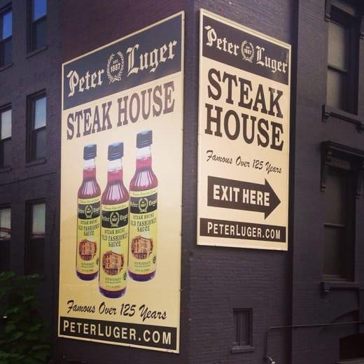Steak House Peter Luger
